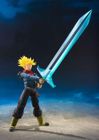 Dragon Ball Super S.H.Figuarts Action Figur: Trunks [Tamashii Web Exclusive] – Bild 3
