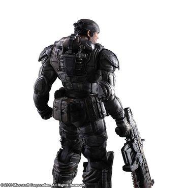 Gears of War Play Arts Kai Action Figur: Marcus Fenix – Bild 2