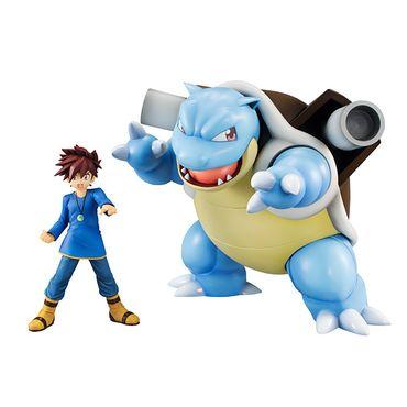 Pokémon G.E.M. Series Statue: Gary Eich & Turtok – Bild 1