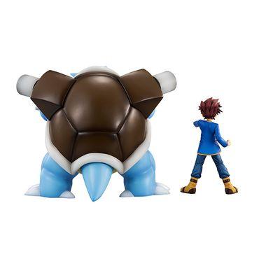 Pokémon G.E.M. Series Statue: Gary Eich & Turtok – Bild 3