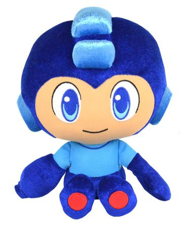 Mega Man Plush Collection Plüsch Figur: Mega Man