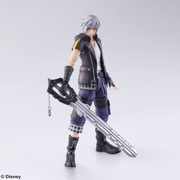 Kingdom Hearts III Bring Arts Action Figur: Riku – Bild 1