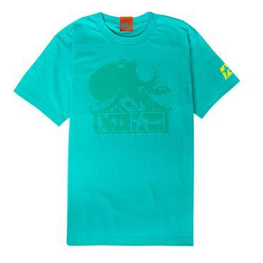 Splatoon 2 T-Shirt: Grünes Oktoking Shirt – Bild 1