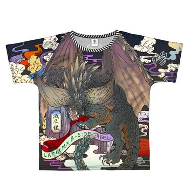 Capcom × B-Side Label Monster Hunter: World T-Shirt: Nergigante [Full Graphic Shirt] – Bild 1