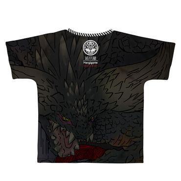 Capcom × B-Side Label Monster Hunter: World T-Shirt: Nergigante [Full Graphic Shirt] – Bild 2
