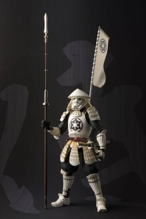 Star Wars Meisho Movie Realization Action Figur: Yari Ashigaru Sturmtruppler – Bild 1