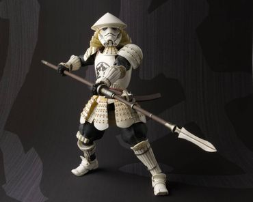 Star Wars Meisho Movie Realization Action Figur: Yari Ashigaru Sturmtruppler – Bild 4