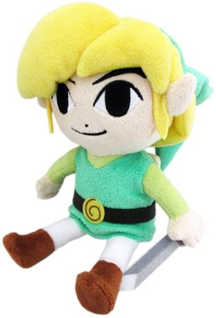 The Legend of Zelda: The Wind Waker HD Plüsch Figur: Link [M]