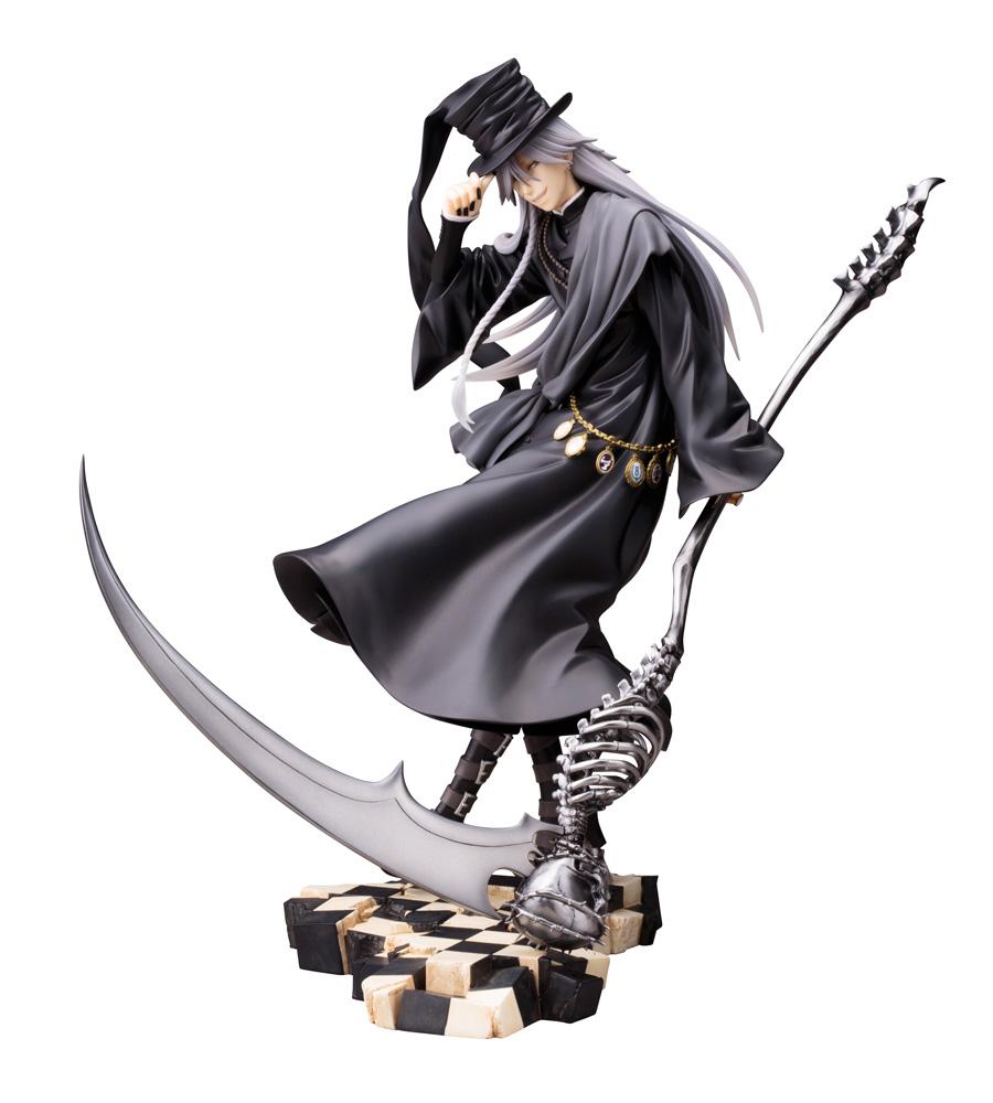 Black Butler Book Of Circus ARTFXJ 1 8 Statue Undertaker Shinigami Version