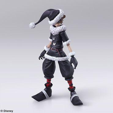 Kingdom Hearts II Bring Arts Action Figur: Sora [Christmas Town Version] – Bild 7