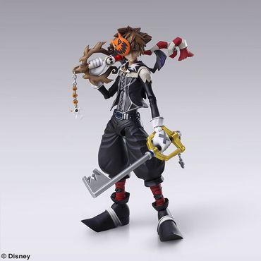 Kingdom Hearts II Bring Arts Action Figur: Sora [Halloween Town Version] – Bild 1