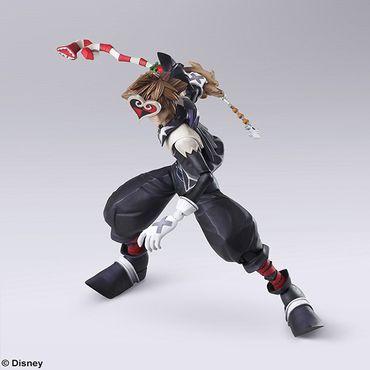 Kingdom Hearts II Bring Arts Action Figur: Sora [Halloween Town Version] – Bild 5
