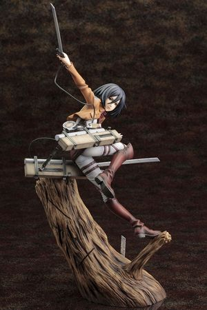 Attack on Titan ARTFX J 1/8 Statue: Mikasa Ackermann – Bild 3