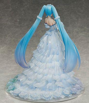 Vocaloid Character Vocal Series 01 1/7 Statue: Hatsune Miku [Wedding Dress Version] – Bild 5