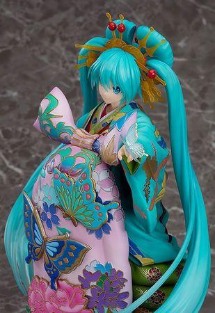 Vocaloid Character Vocal Series 01 1/7 Statue: Hatsune Miku [Chokabuki Kuruwa Kotoba Awase Kagami Version] – Bild 7