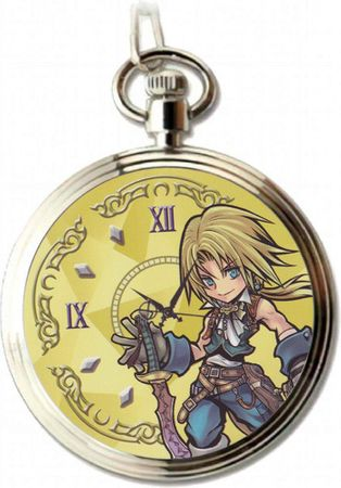 Dissidia Final Fantasy Opera Omnia Pocket Watch Volume 1 Uhr: Zidane Tribal [Final Fantasy IX]