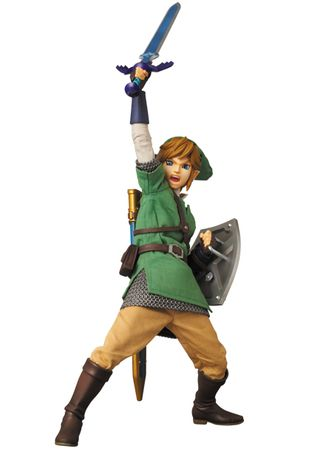 The Legend of Zelda: Skyward Sword Real Action Heroes No. 622 Action Figur: Link