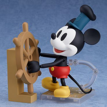 Steamboat Willie Nendoroid #1010b Figur: Micky Maus [1928 Color Version] – Bild 1