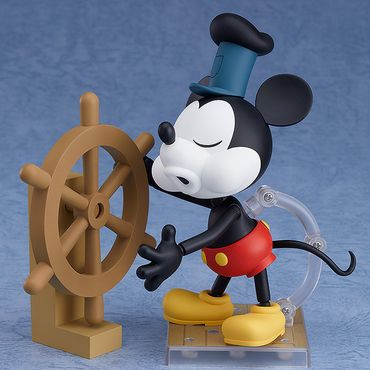 Steamboat Willie Nendoroid #1010b Figur: Micky Maus [1928 Color Version] – Bild 3