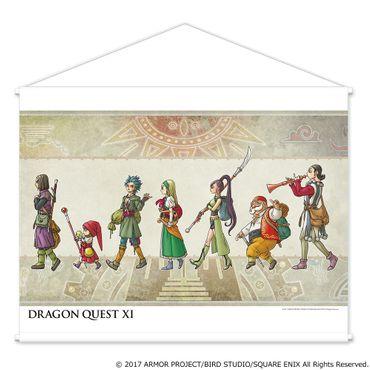 Dragon Quest XI: Streiter des Schicksals Wall Scroll: Gruppe [Version A]