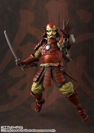 Marvel Comics Meishou Manga Realization Action Figur: Iron Man Mark III [Koutetsu Samurai Version] – Bild 7