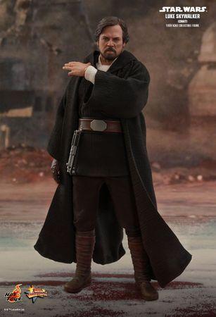 Star Wars: Episode VIII - Die letzten Jedi Movie Masterpiece 507 1/6 Action Figur: Luke Skywalker [Crait Version] – Bild 14