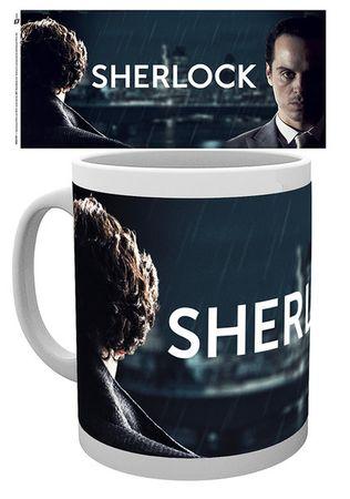 Sherlock 280ml Tasse: Sherlock Holmes und Mycroft Holmes – Bild 2