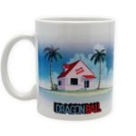 Dragon Ball Z 320ml Tasse: Muten-Roshis Kame Haus 001