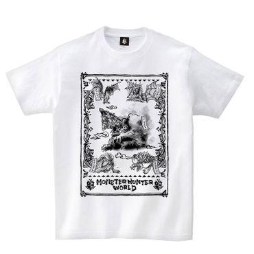 Monster Hunter: World T-Shirt: Japanese Pattern