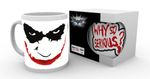 Batman: The Dark Knight 280ml Tasse: Joker [Why So Serious?) 001