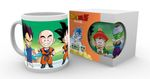 Dragon Ball Z 280ml Tasse: Chibi-Gruppe