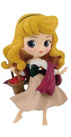 Q posket Disney Characters petit -Cinderella • Briar Rose • Snow White- Figur: Prinzessin Aurora [Dornröschen]