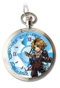 Dissidia Final Fantasy Opera Omnia Pocket Watch Volume 2 Uhr: Tidus [Final Fantasy X]