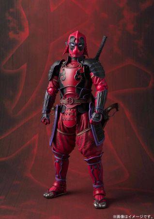 Marvel Comics Meishou Manga Realization Action Figur: Deadpool [Kabukimono Version] – Bild 2