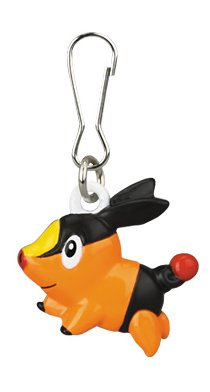 Pokémon: Best Wishes! Metallclip-Anhänger: #498 Floink