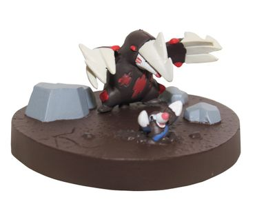 Pokémon: Best Wishes! 1/40 Scale Real Pokémon Figure Diorama: #529 Rotomurf und #530 Stalobor