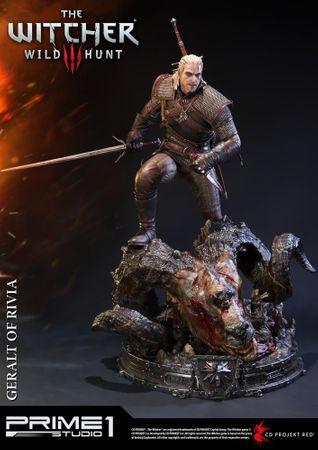 The Witcher 3: Wild Hunt Premium Masterline 1/4 Statue: Geralt von Riva – Bild 4