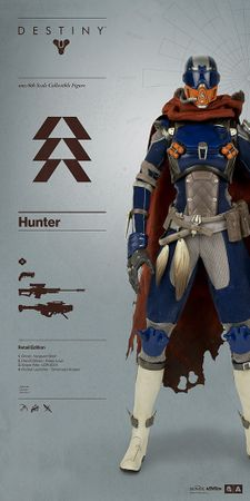 Destiny 1/6 Figur: Jäger [Retail Edition]