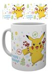 Pokémon 280ml Tasse: Weihnachts-Pikachu [Happy Holidays]