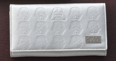 Star Wars Premium Geldbörse: Darth Vader und Sturmtruppler [Weiß]