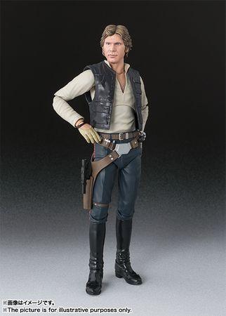 Star Wars: Episode IV - Eine neue Hoffnung S.H.Figuarts Figur: Han Solo – Bild 1