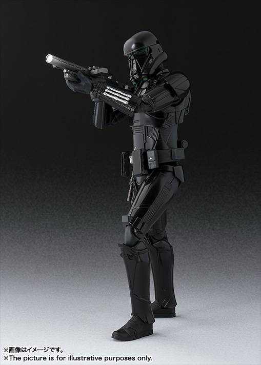 A Star Wars Story Bandai Japan S.H.Figuarts Death Trooper from Rogue One