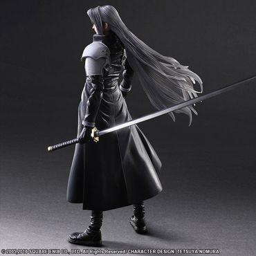 Final Fantasy VII: Advent Children Play Arts Kai Action Figur: Sephiroth – Bild 3
