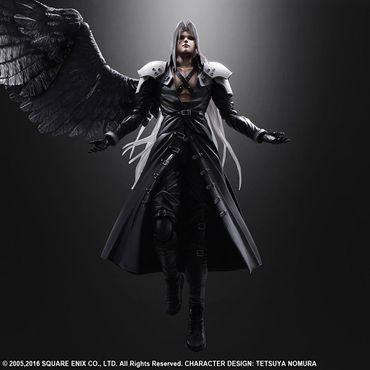 Final Fantasy VII: Advent Children Play Arts Kai Action Figur: Sephiroth – Bild 6