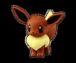 Pokémon Moncollé Monster Collection MC-029 Figur: #133 Evoli 001