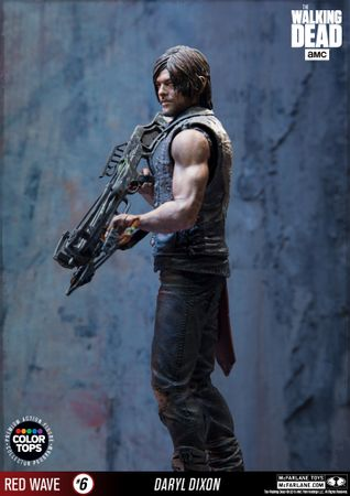 The Walking Dead Color Tops Red Wave #6 Figur: Daryl Dixon – Bild 2