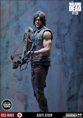 The Walking Dead Color Tops Red Wave #6 Figur: Daryl Dixon – Bild 3