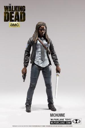 The Walking Dead Serie 9 Action-Figur: Michonne [Polizei Uniform Version] – Bild 1