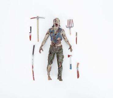 The Walking Dead Comic Serie 4 Action-Figur: Nadelkissen Zombie – Bild 5