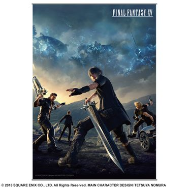 Final Fantasy XV Volume 2 Wall Scroll: Spiele-Cover